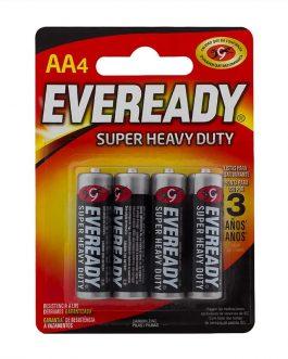 Pilha Eveready AA com 4 Unidades