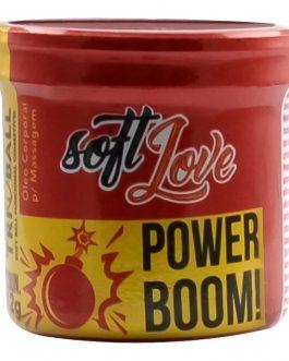 Bolinha Power Boom Soft Ball com 3 Unidades