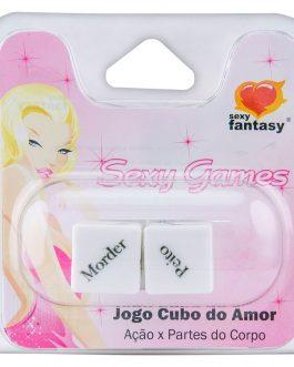 Dado Jogo Cubos do Amor