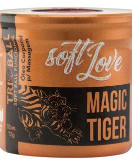 Bolinha Funcional Magic Tiger – 3 Unidades