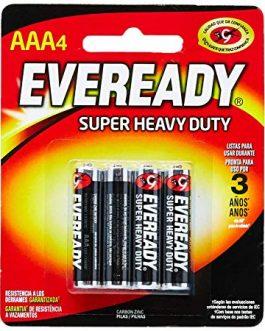 Pilha Eveready AAA com 4 Unidades