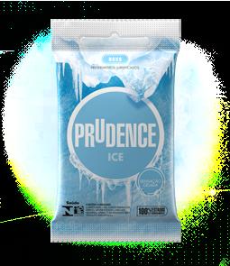 Preservativo Prudence Ice com 3 Unidades