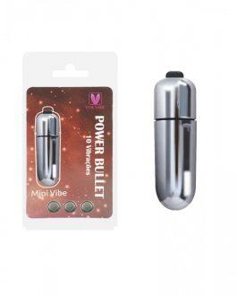 Cápsula Power Bullet – Mini Vibe 10 Vibrações