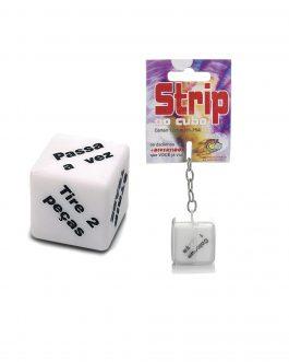Dado Strip ao Cubo Chaveiro