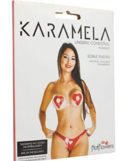 Lingerie Karamela Comestível
