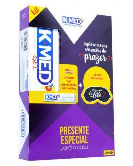 Kit Especial Dis dos Namorado K-Med Gel 50gr +1 Venda Exclusiva