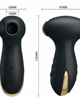 Vibrador & Sugador Pretty Love Hammer com Detalhes em Ouro 18k e 7 Modos de Vibração