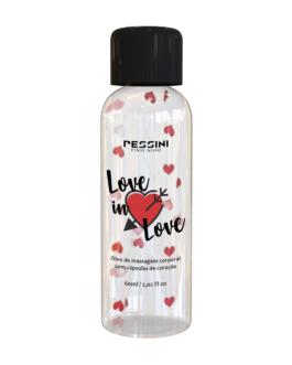 Óleo para Massagem Corporal Love In Love Pessini