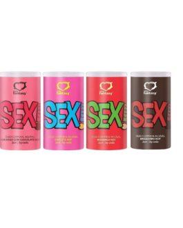 Bolinha Sex Caps Hot Cápsulas Beijáveis com 2 unidades